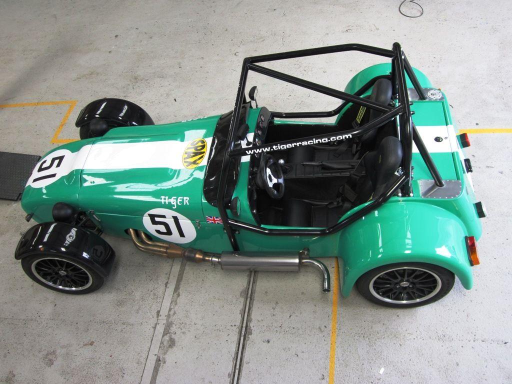 British Built Cars Tiger Racing Avon