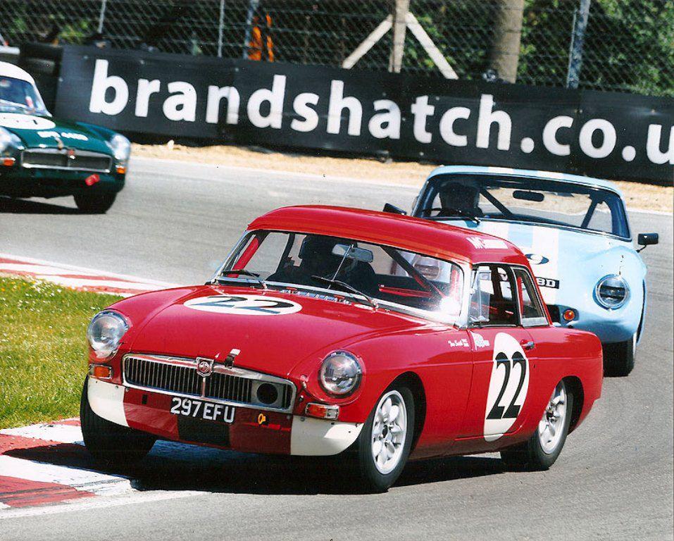 British Built Cars | MG Motorsport - MGC GTS Sebring/MGB Historic ...